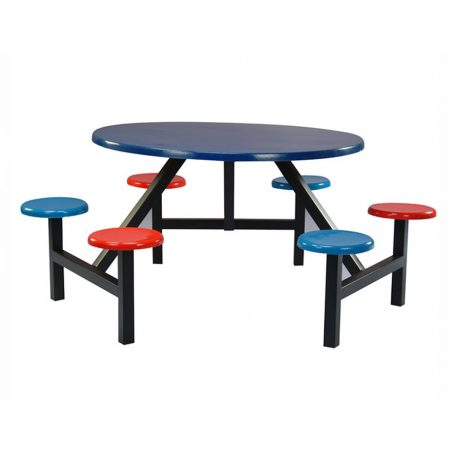 Fiberglass Cafeteria Furniture